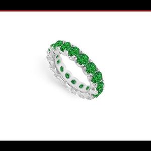 Jewelry - Eternity Emerald Band